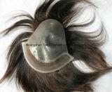 """8 """" V-Hanno collegato i prodotti per i capelli in circuito invisibili iniettati del Mens del nodo del Toupee"""