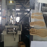 Shoe Soleのための高いEfficiency Vertical Injection Molding Machine