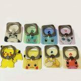 携帯電話のための正方形Pokemon/Pikachuの電話リングのバックルかホールダー