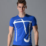 T-shirt fait sur commande d'impression de sublimation
