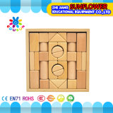 O Desktop de madeira das crianças brinca o enigma de madeira dos blocos de apartamentos desenvolventes dos brinquedos (XYH-JMM10010)