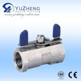 Vávula de bola de acero de carbón de la PC 2 (Q11F)