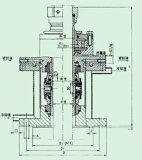 機械シールは強い腐食性のエージェント(206)に適用する