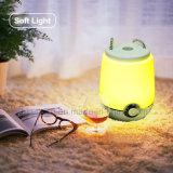 De Lamp van het draagbare LEIDENE Bureau van de Muziek met Spreker Bluetooth