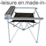 ألومنيوم يطوي/يخيّم طاولة (مع براءة اختراع)