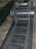 Correia transportadora de borracha do Sidewall ondulado para o setor mineiro