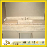 Bathroom를 위한 베이지색 Travertine Marble Countertop