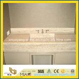 Beige Travertine Marble Countertop for Bathroom