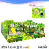 Equipo divertido del parque de la selva de los niños del patio de interior del tema para la venta