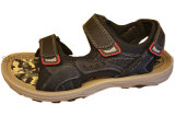 Sandálias do couro do fabricante do homem
