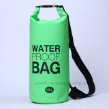Outdoor Sports 10L PVC Waterproof Barrel Backpack Dry Bag