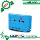 10A、12V、USB、LEDのPWMの太陽コントローラ