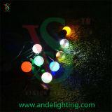 Luz da correia do festão do diodo emissor de luz E27 para a luz ao ar livre da decoração do Natal