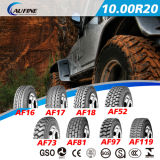 Pneu radial lourd de camion, avec le pneu de tube