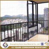 Гальванизированная высоким качеством загородка балкона алюминиевого сплава, Railing обеспеченностью, балюстрады балкона