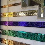 Tubo di colore impresso decorazione dell'acciaio inossidabile