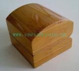 Естественная деревянная коробка ювелирных изделий