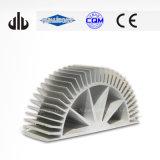 Radiateur en aluminium industriel fabriqué par commande numérique par ordinateur en aluminium anodisé de radiateur