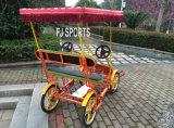 Рекреационный тандемный велосипед для туриста