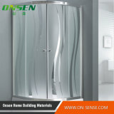Sliding de alumínio Door Shower Enclosure para Bathroom