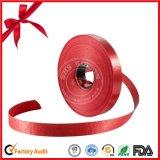Покрашенная катышка тесемки обруча подарка красная
