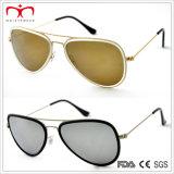 O estilo o mais novo da forma 2015 e óculos de sol coloridos do metal (MI203)