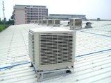 Refrigerador de aire evaporativo independiente del abastecimiento de agua