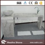Modernes Stone Solid Polished Surface Bathroom Vanity Top mit SGS Certificate