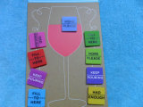 Courroie de support en verre de vin de silicone