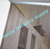 Honby Brown Color Aluminium Chain Link Door Screen Curtain