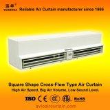 Cortina de ar quadrada FM-1.5-12 do cruzamento de fluxos da forma mais