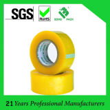 Nastro adesivo giallastro dell'imballaggio di BOPP (KD-0243)