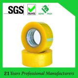 BOPP amarillento adhesiva cinta de embalaje (KD-0243)