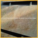 Indien-imperiale Goldgranit-Stein-Platten für Countertops/Eitelkeits-Oberseiten/Worktops