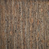 Cuir en cuir synthétique à la mode populaire de fibre de bois pour la décoration à la maison (HS-WG1)