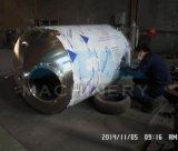 réservoir de mélange de jus sanitaire de l'acier inoxydable 500L avec la vitesse 200rpm de mélange (ACE-JBG-F8)