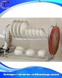 Crémaillère de séchage de type d'acier inoxydable d'assiette neuve de cuisine