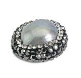 Шарик ювелирных изделий малой перлы кристаллический