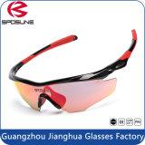 최고 질 가벼운 프레임을%s 가진 UV 방어적인 자전거 타는 사람 스포츠 안경알의 주위에 방풍 순환 운영하는 어업 색안경 포장