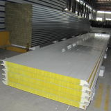 Neues Style Mineral Wool Sandwich Panel für Wall Panel