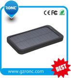 Banco da potência solar de telefone móvel de bateria solar 5000mAh
