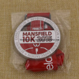 Medaglia di esecuzione 5k 10k di Mansfield del metallo del medaglione di disegno di Uniqe
