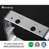Rectángulo de aluminio del recinto del metal del perfil de la protuberancia del producto de aluminio