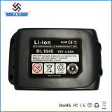 Makita drahtlose Abwechslung Li-Ionenergien-Hilfsmittel-Batterie des Bohrgerät-Bl1840 18V 4.0 nachladbare