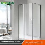 Schermo di acquazzone Walk-in di alluminio del portello per la stanza da bagno
