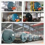 gás de condensação da caldeira da passagem da câmara de ar de incêndio 8000kg/H horizontal três despedido