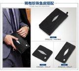 주문을 받아서 만들어진 진짜 가죽 형식 남자 지갑 핸드백