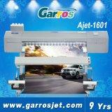 Машинное оборудование печатание Eco принтера знамени гибкого трубопровода Garros Ajet1601 цифров растворяющее