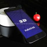 für iPhone 6/6s plus 9h gebogenen blauen Strahl-ausgeglichenes Glas-Bildschirm-Antischoner des Rand-3D