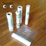Sacchetto piano del LDPE della plastica a gettare